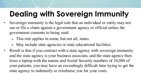 sovereign immunity definition