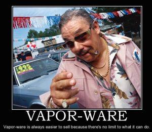 Olaeris Vaporware