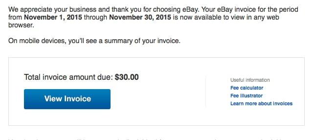 ebay FVF